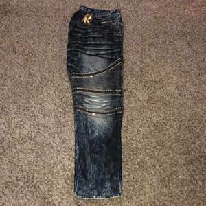 Blue stone washed Robin jeans